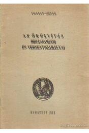 Az ökölvívás bíráskodási és versenyszabályai - Forray Árpád - Régikönyvek