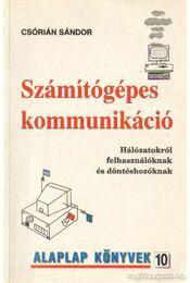 Számítógépes kommunikáció - Csórián Sándor - Régikönyvek