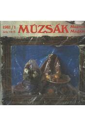 Múzsák Múzeumi Magazin 1981. évf. (hiányos) - Régikönyvek