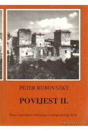 Povijest II. - Rubovszky Péter - Régikönyvek