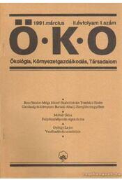 Öko 1991. március II. évfolyam 1. szám - Több szerkesztő - Régikönyvek