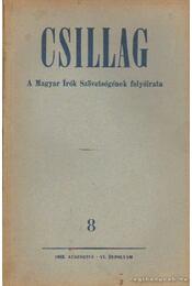 Csillag 1953./8. augusztus - Aczél Tamás, Király István, Urbán Ernő - Régikönyvek