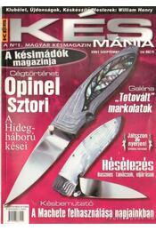 Késmánia 2001. szeptember - Árok Ajtony - Régikönyvek