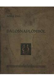 Dalosnaplómból (dedikált) - Böhm Emil - Régikönyvek