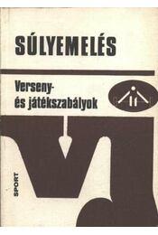Súlyemelés - Szabó Ferenc - Régikönyvek