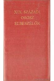XIX. századi orosz elbeszélők - Régikönyvek