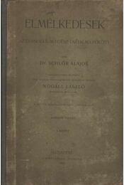 Elmélkedések az evangélium egész tartalma fölött I. kötet - Dr. Schlőr Alajos - Régikönyvek