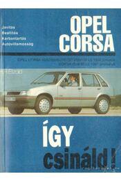 Opel Corsa - Etzold, Hans-Rüdiger - Régikönyvek