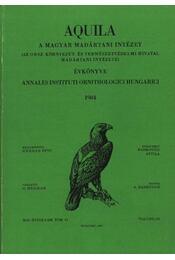 Aquila évkönyv 1984. XCI évfolyam 91. sz. - Herman Ottó - Régikönyvek