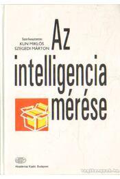 Az intelligencia mérése - Kun Miklós - Szegedi Márton - Régikönyvek