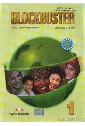Blockbuster 1 I-II. (tankönyv+munkafüzet) - Jenny Dooley ,  Virginia Evans - Régikönyvek