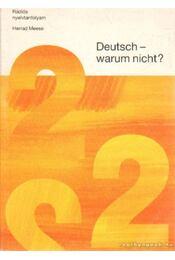 Deutsch warum nicht? 2 - Meese, Herrad - Régikönyvek