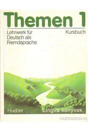 Themen 1. I-II. kötet (Kursbuch + Arbeitsbuch Ausland) - Piepho, Hans-Eberhard - Régikönyvek
