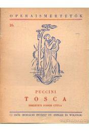Tosca - Giacomo Puccini - Régikönyvek