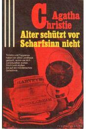 Alter schützt vor Scharfsinn nicht - Agatha Christie - Régikönyvek