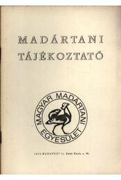 Madártani tájékoztató 1979. január-március - Szentendrey Géza - Régikönyvek
