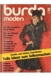 Burda moden 1982./12. Dezember (német nyelvű) - Régikönyvek