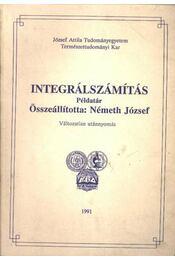Integrálszámítás - Németh József - Régikönyvek