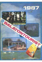 Balatontourist 1987 - Régikönyvek