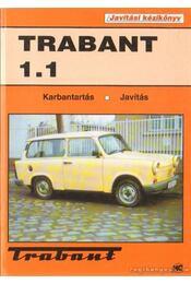 Trabant 1.1 javítási kézikönyv - Régikönyvek