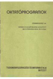 Oktatóprogramok - Régikönyvek