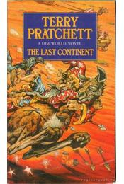 The last continent - Terry Pratchett - Régikönyvek