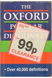 The Oxford popular dictionary - Régikönyvek