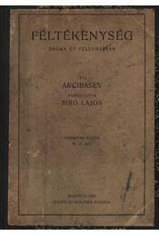 Féltékenység - Arcibasev - Régikönyvek