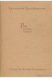Edgar Allan Poe összes versei - The Complete Poems - Edgar Allan Poe - Régikönyvek