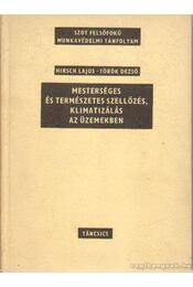 Mesterséges és természetes szellőzés, klimatizálás az üzemekben - Hirsch Lajos, Török Dezső - Régikönyvek