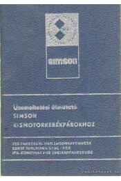 Üzemeltetési útmutató Simson kismotorkerékpárokhoz - Régikönyvek