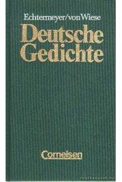 Deutsche Gedichte - Echtermeyer - Régikönyvek