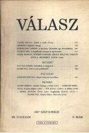 Válasz 1947/szeptember - Régikönyvek