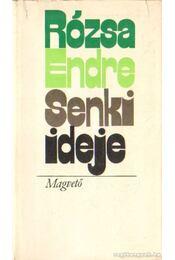 Senki ideje - Rózsa Endre - Régikönyvek