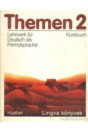 Themen 2. I-II. kötet (Kursbuch + Arbeitsbuch Ausland) - Piepho, Hans-Eberhard - Régikönyvek