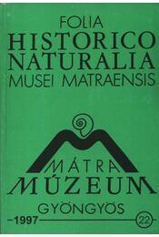 Mátra Múzeum, Gyöngyös 1997. 22. - Varga András - Régikönyvek