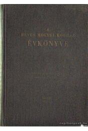 A Heves megyei kórház évkönyve - Dr. Haraszti Antal (szerk.) - Régikönyvek