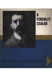 A Ferenczy család - Pogány Ö. Gábor dr. - Régikönyvek