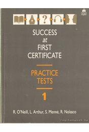 Success at forst cerificate - Nolasco, Rob, O'Neill, R., Arthur, L., Menné, S. - Régikönyvek