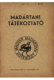 Madártani tájékoztató 1981. január-március - Szentendrey Géza - Régikönyvek