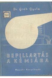 Bepillantás a kémiába - Dr. Gróh Gyula - Régikönyvek
