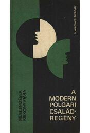 A modern polgári családregény - Gorilovics Tivadar - Régikönyvek