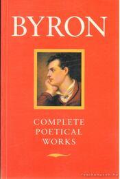 Complete Poetical Works - Byron - Régikönyvek