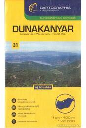 Dunakanyar turistatérkép (1:40000) - Régikönyvek