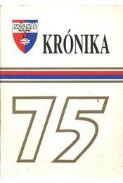 Krónika 75. - Régikönyvek