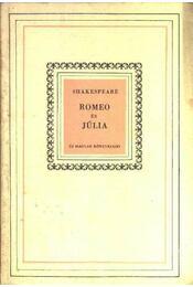 Romeo és Júlia - William Shakespeare - Régikönyvek