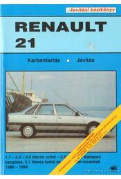 Renault 21 karbantartás, javítás - Régikönyvek
