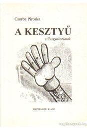 A kesztyű - Csorba Piroska - Régikönyvek
