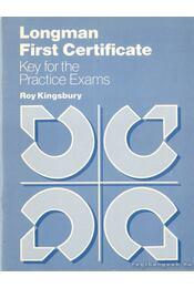 Longman First Certificate - Kingsbury, Roy - Régikönyvek