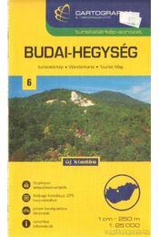 Budai-hegység turistatérkép (1:25000) - Régikönyvek